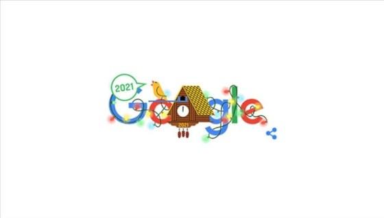 Η Google γιόρτασε το νέο έτος με το