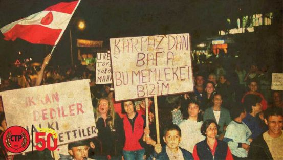 Το Ρεπουμπλικανικό Τουρκικό Κόμμα είναι 50 ετών…
