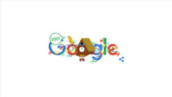 """Η Google γιόρτασε το νέο έτος με το """"doodle"""""""