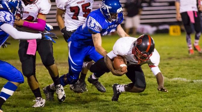 Bishop vs. Rosamond, Varsity Football 2014