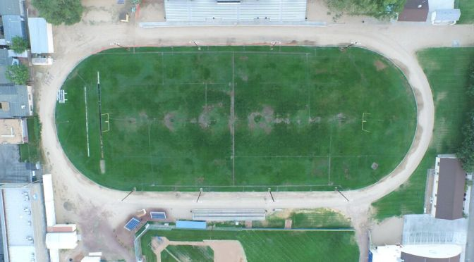 Progress on BUHS John Schwab Field