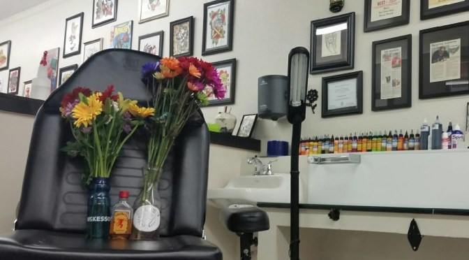 Bishop morns death of Tattoo Artist