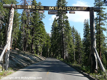 REDS MEADOW VALLEY ROAD CLOSED