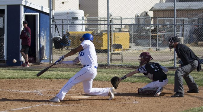 Bronco Varsity Baseball vs Mammoth
