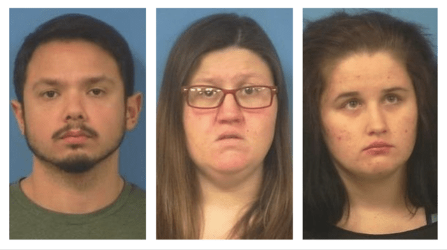 Man and Two Women Arrested for Kidnapping and False