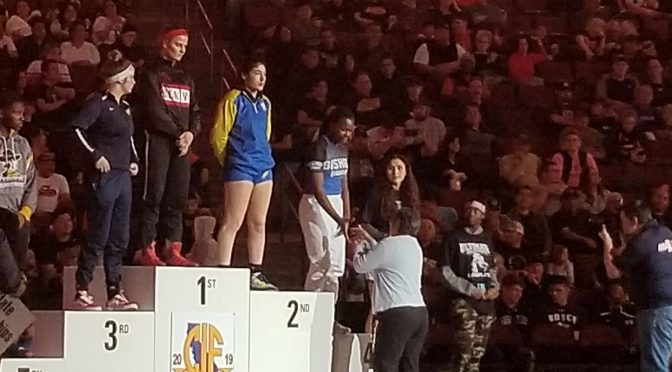 Tia Barfield Finishes Fourth Place at State Finals