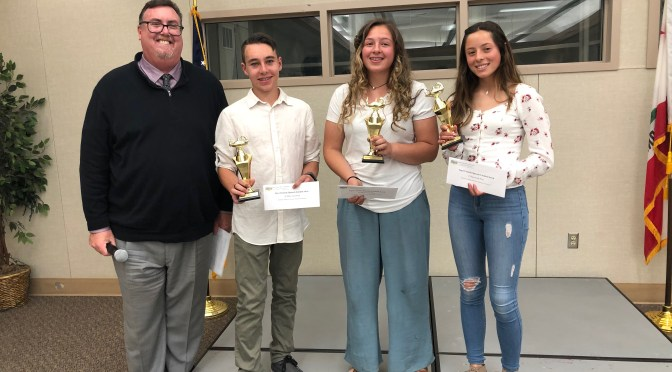 Round Valley Student Alexandra Morales Wins Inyo County Speech Contest