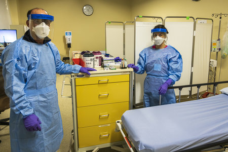 The Tide May Be Turning In Northern Inyo Hospital's Favor in Fight Against Coronavirus.