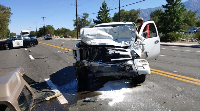 Crash in Lone Pine Leads to Multiple Injuries