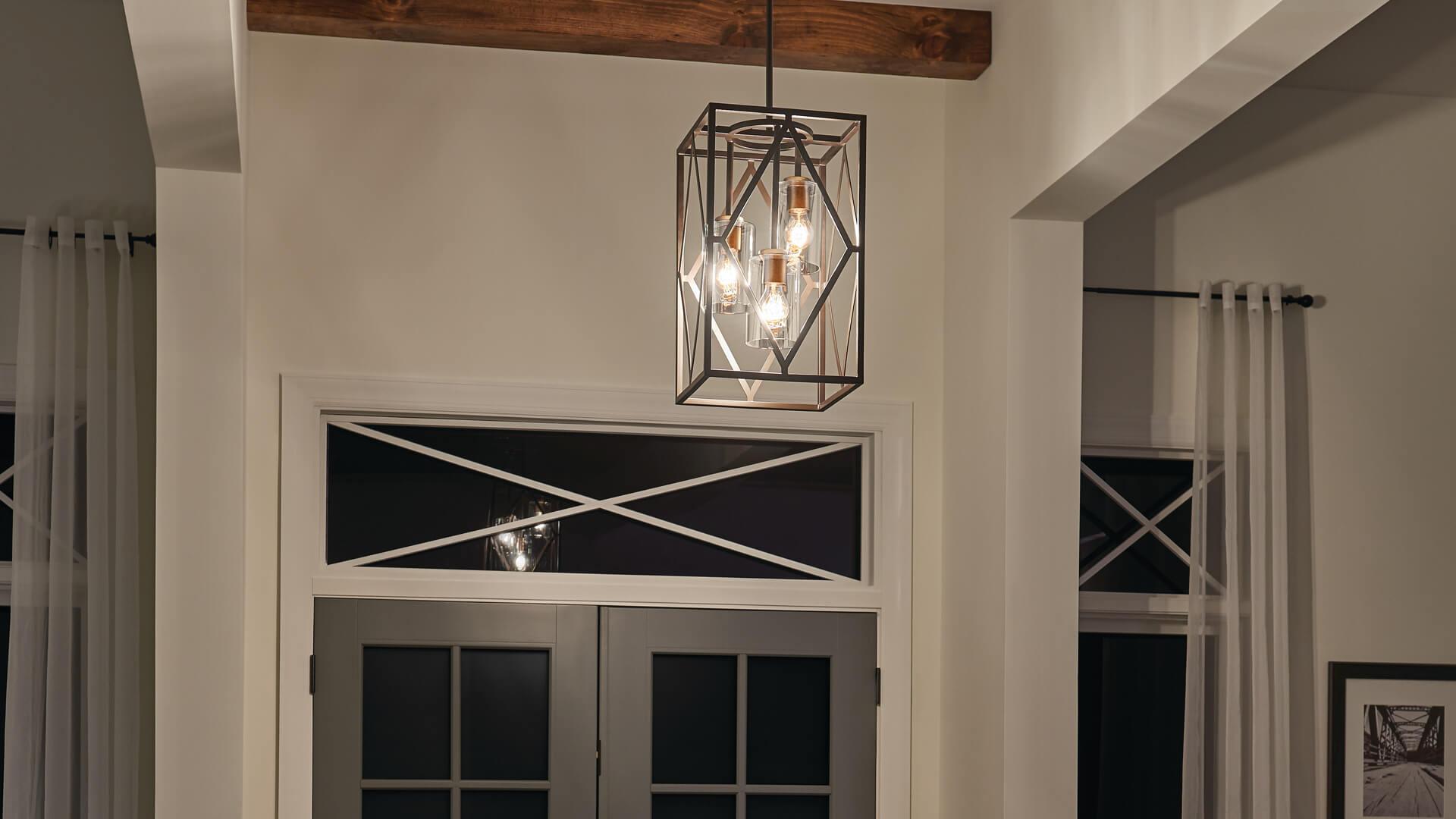entryway kichler lighting