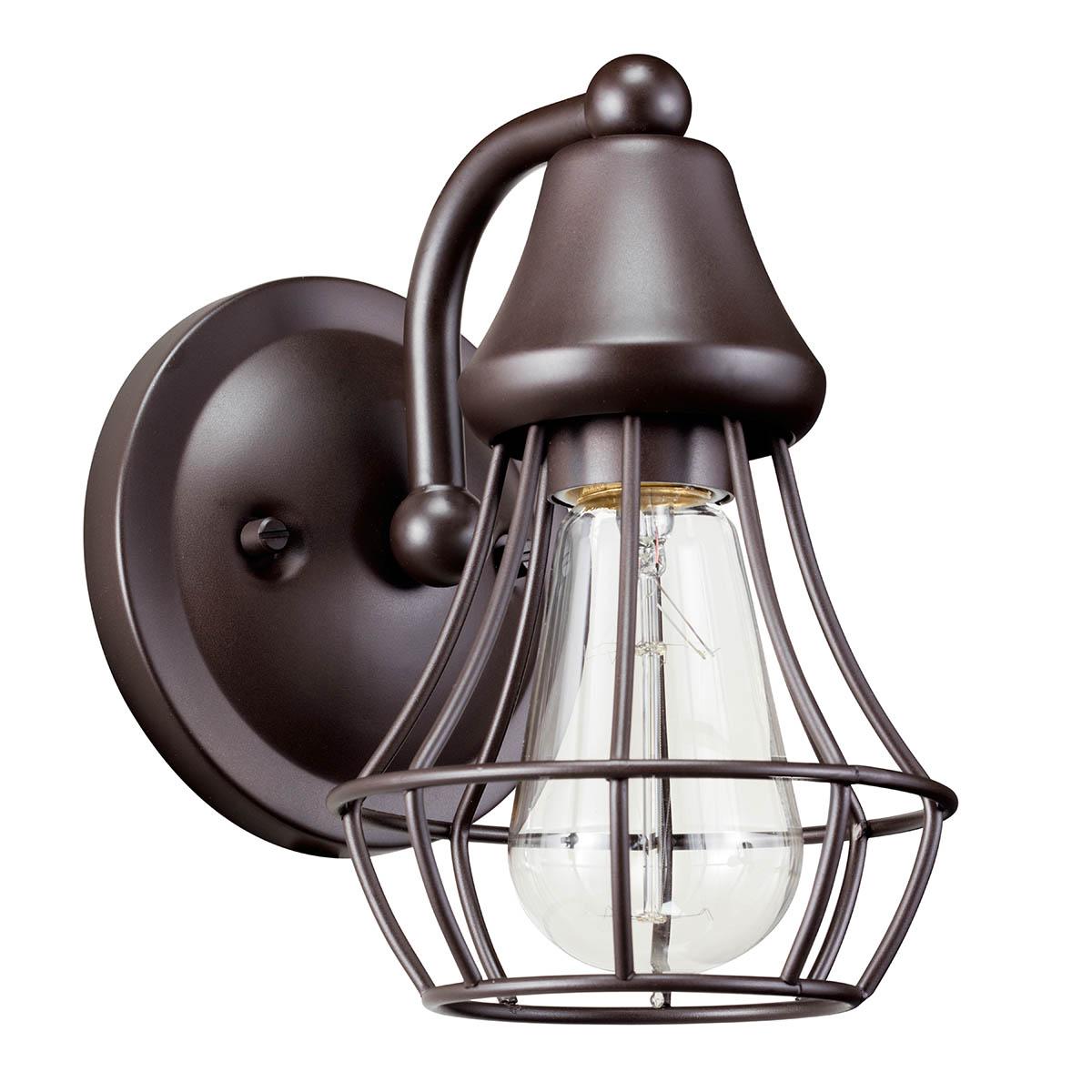 Bayley™ 1 Light Wall Sconce Olde Bronze® | Kichler Lighting on Kichler Olde Bronze Wall Sconce id=54147