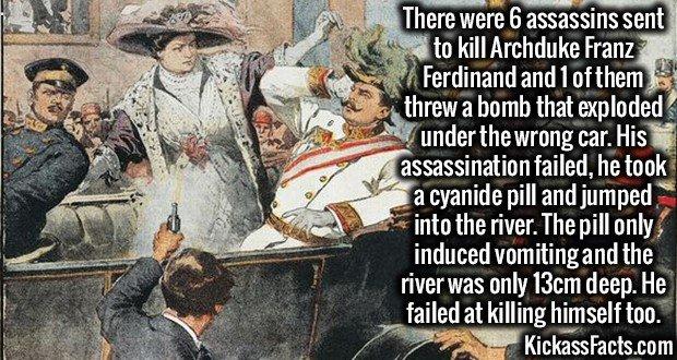 1940 Franz Ferdinand Failed Assasination