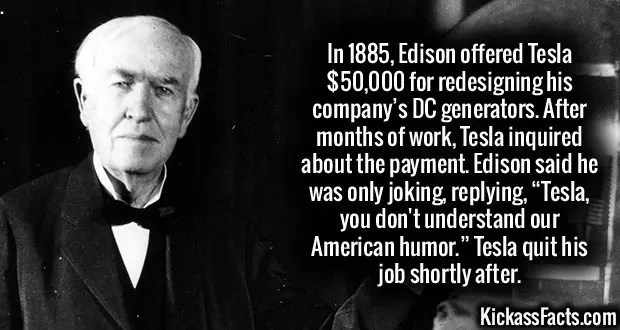 Thomas A. Edison seen here in 1929 holding a replica of his first lamp.