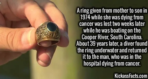 1971 Ring Lost and Found
