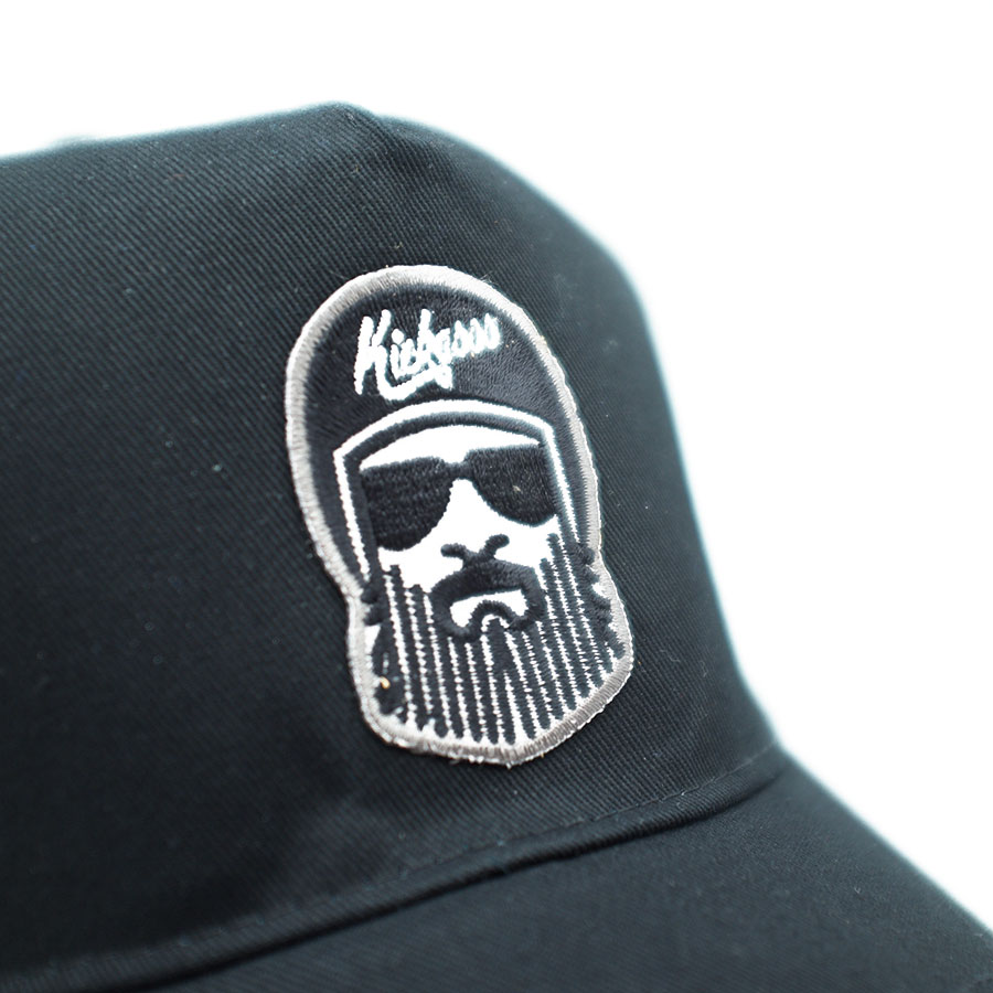 casquette_trucker_driverbarbe_black_detail