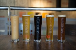 craft beers at zerodegrees