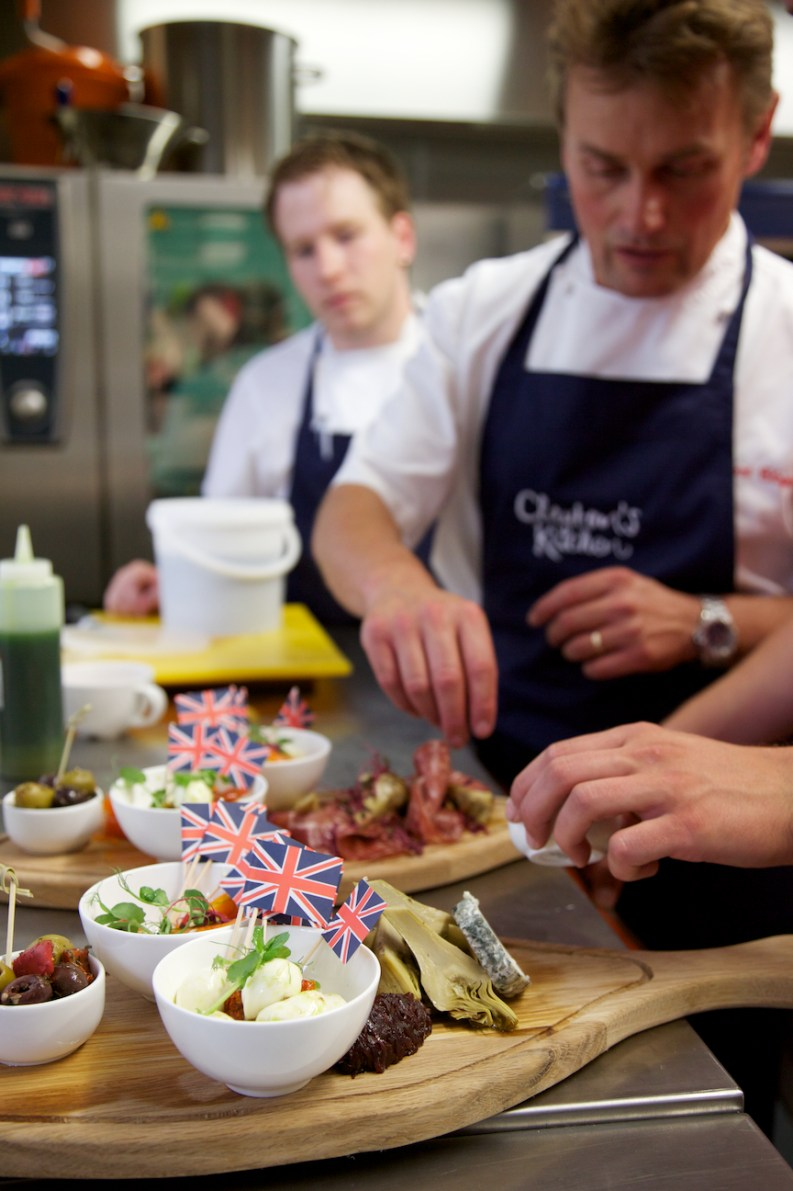 Clayton's Kitchen at The Porter, Bath, Michelin