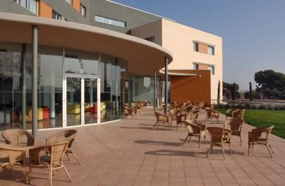 somewhere to sun yourself at the Residencia Agora