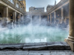 The Roman Baths by day...