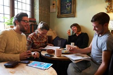 people in a pub in Norwich