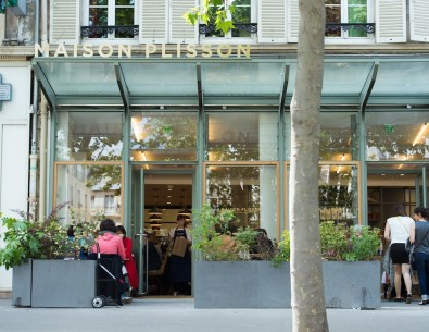 exeterior of trendy shop La Maison Plisson
