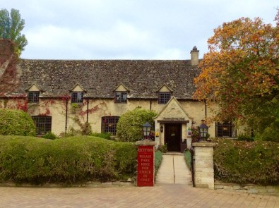 exterior of the mill and reception