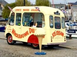 enjoy an ice cream