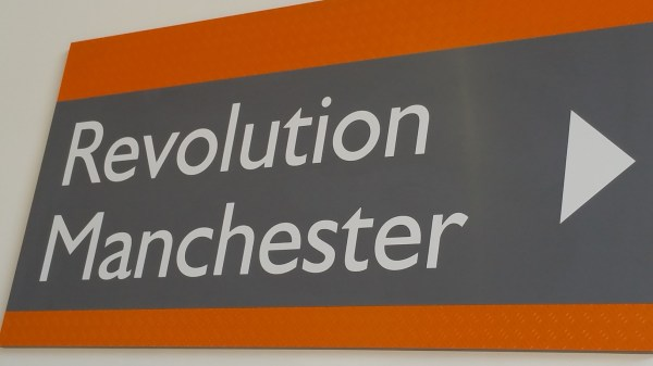 Sign at Museum of Science and Industry