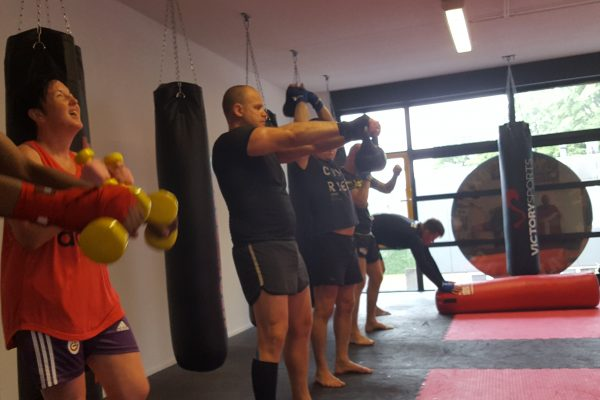 Circuit training Kickboxing-Sansaar