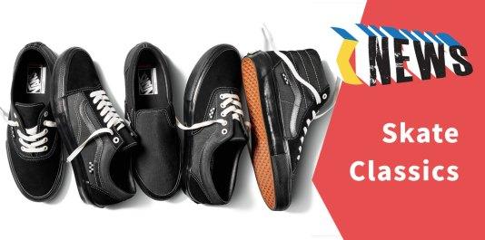 #SkateClassics Vans 经典款职业滑板鞋全面升级?!