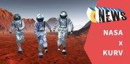 滑板太空人登陆地球,NASA 和中国滑板 KURV 合作!