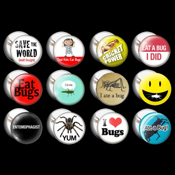 Entomophagy Buttons