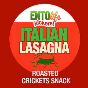 Edible Crickets Lasagna