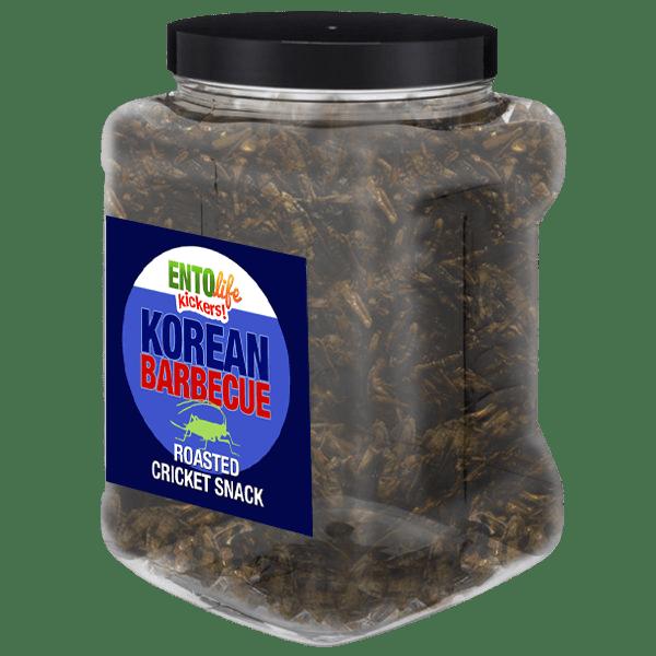 Pound Edible Crickets Korean Barbecue Flavor