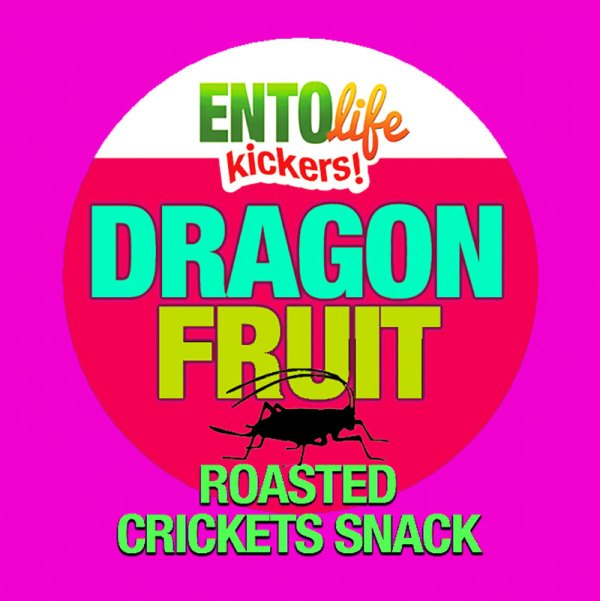 Edible Crickets Flavor Dragon Fruit