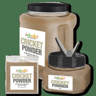 Cricket Powder Packaging