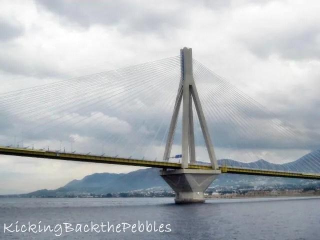 The Rion-Antirion Bridge | Kicking Back the Pebbles