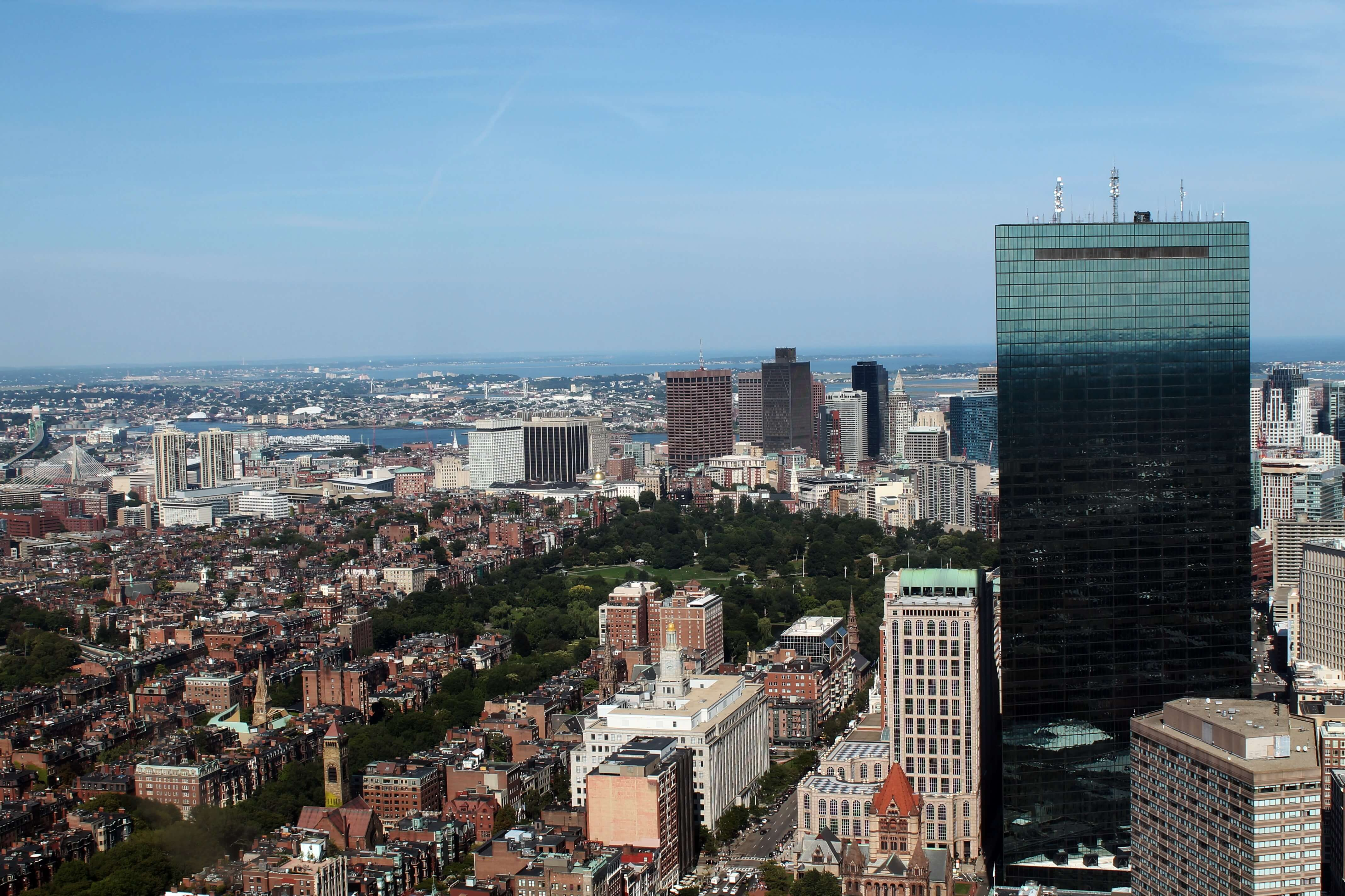 The Prudential Tower - Boston, Massachusetts | Kicking Back the Pebbles