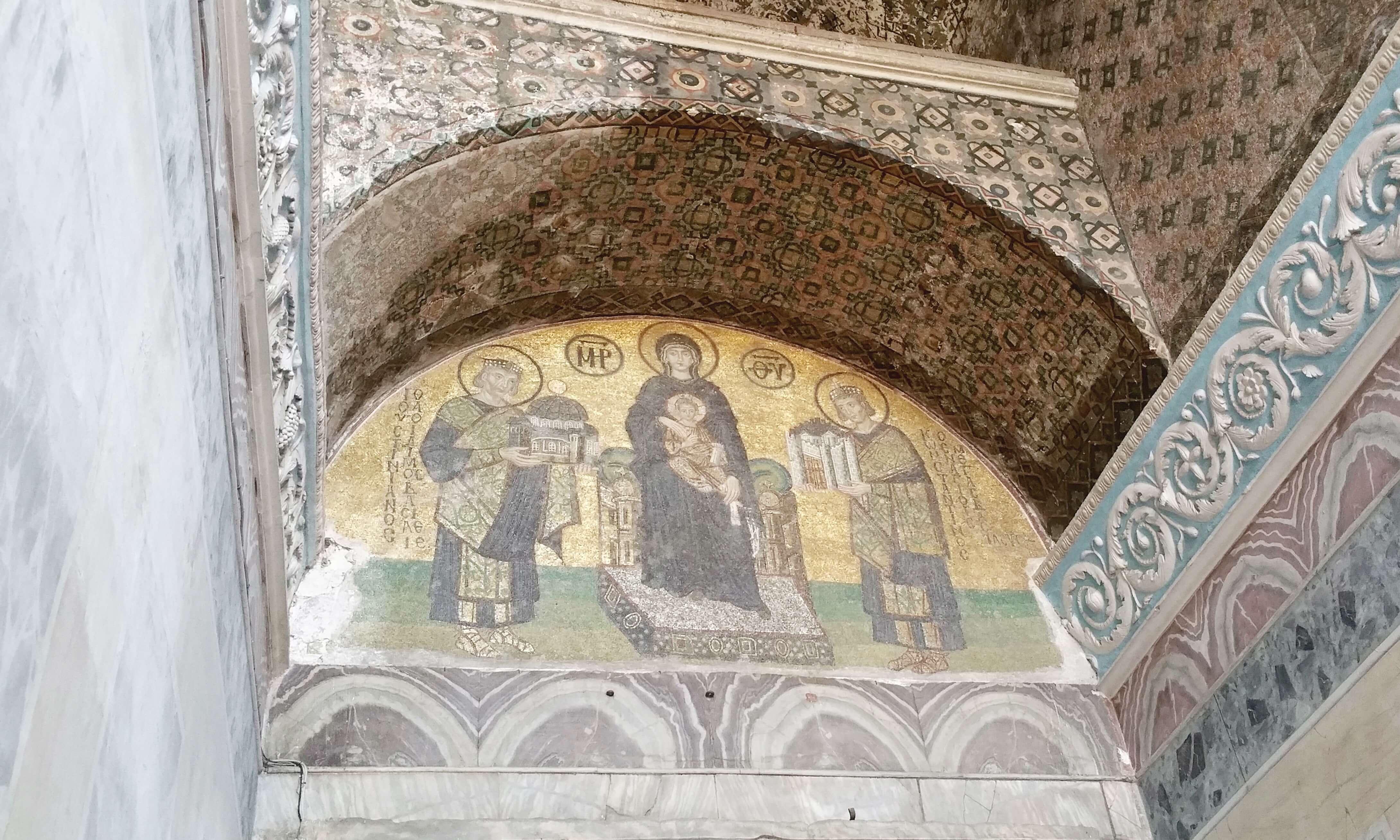 Hagia Sophia_mosaic