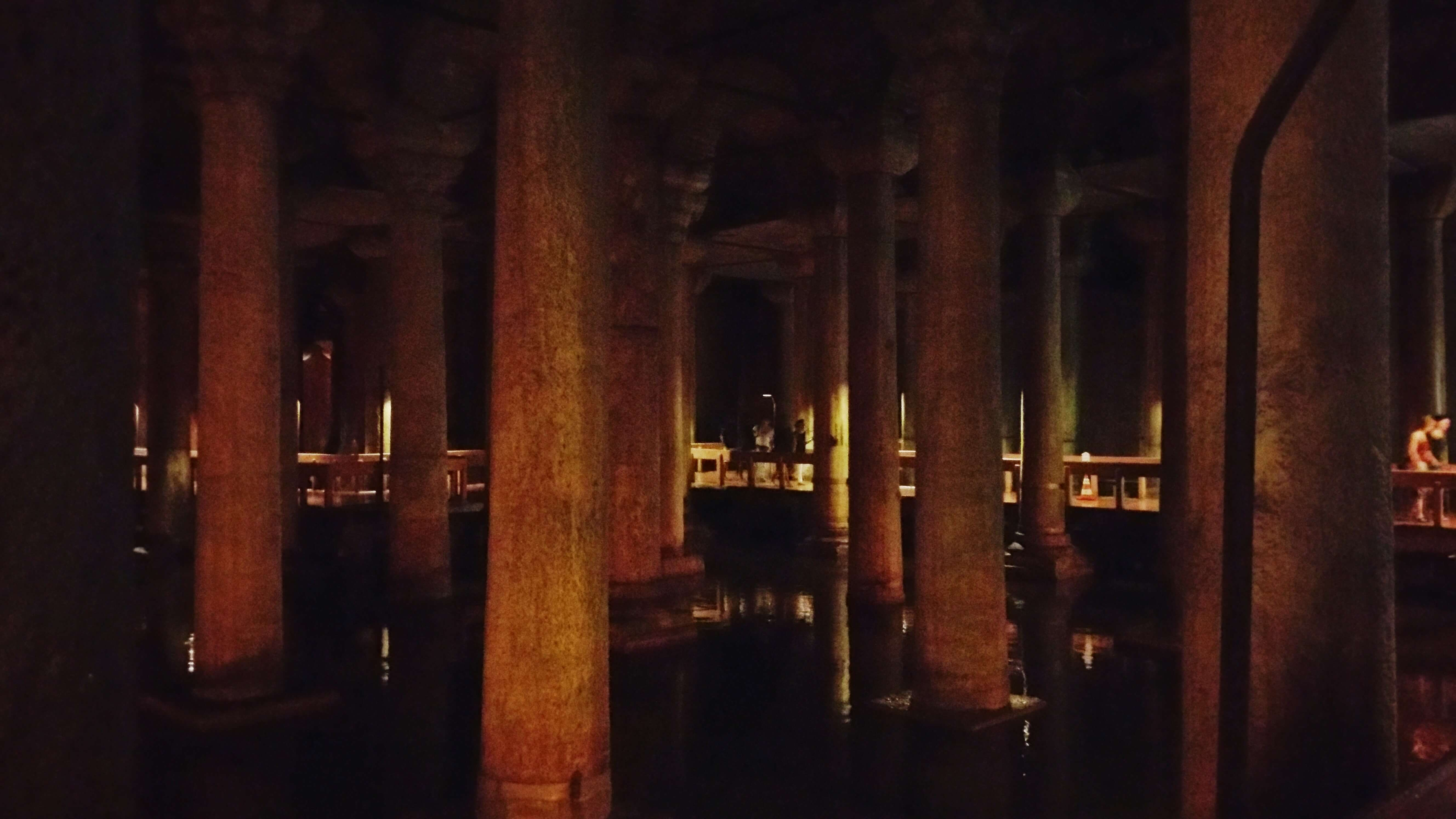 The Basilica Cistern by Kicking Back the Pebbles