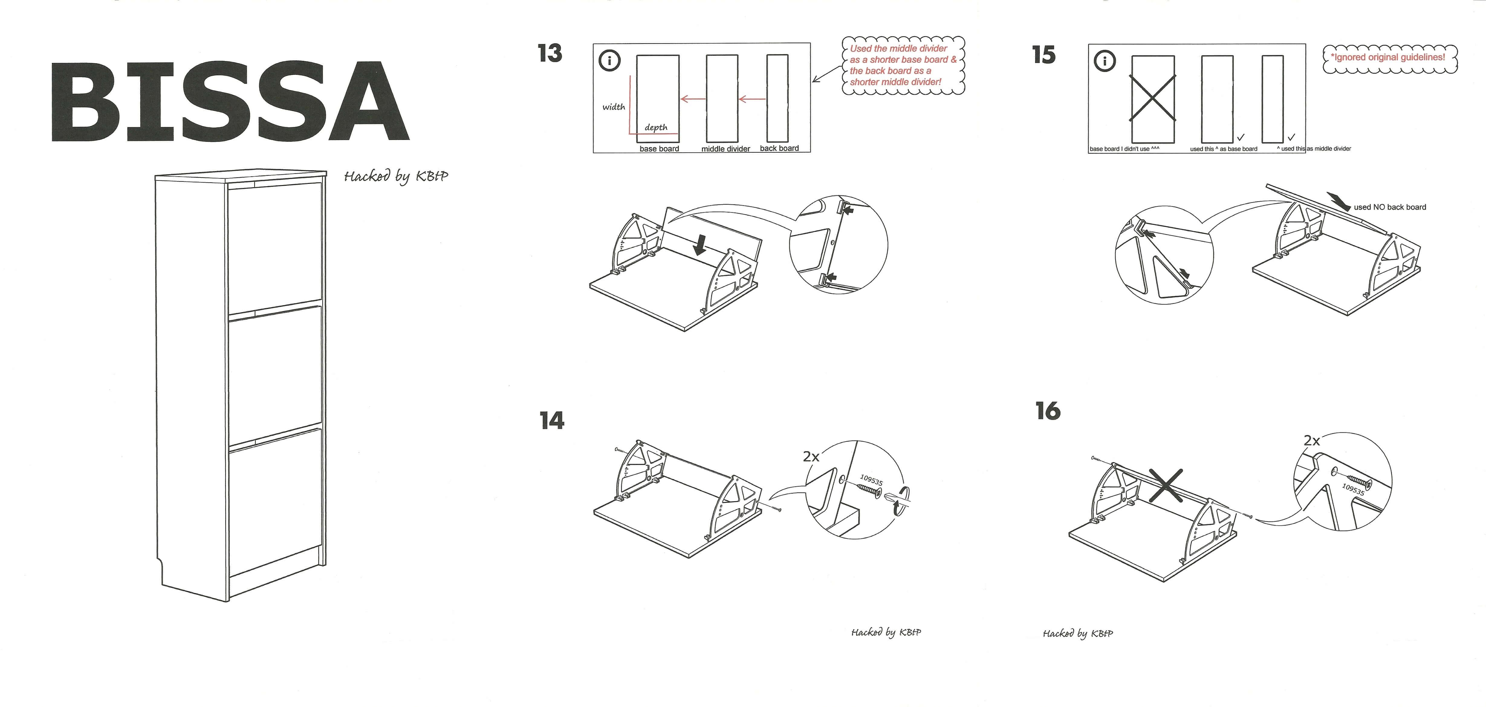 Ikea Bissa Hack by KBtP-horz