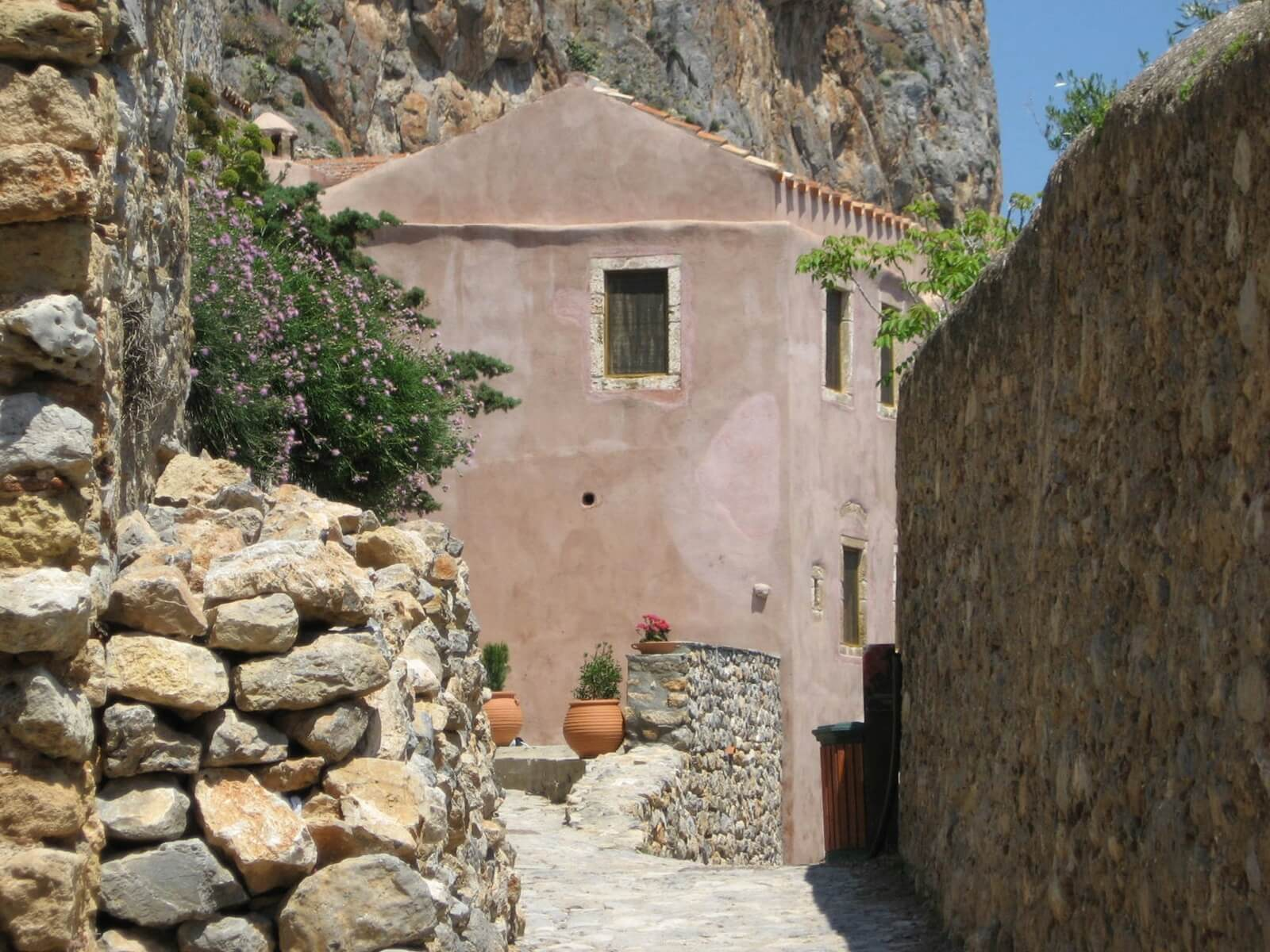 Monemvasia, Peloponnese by Kicking Back the Pebbles