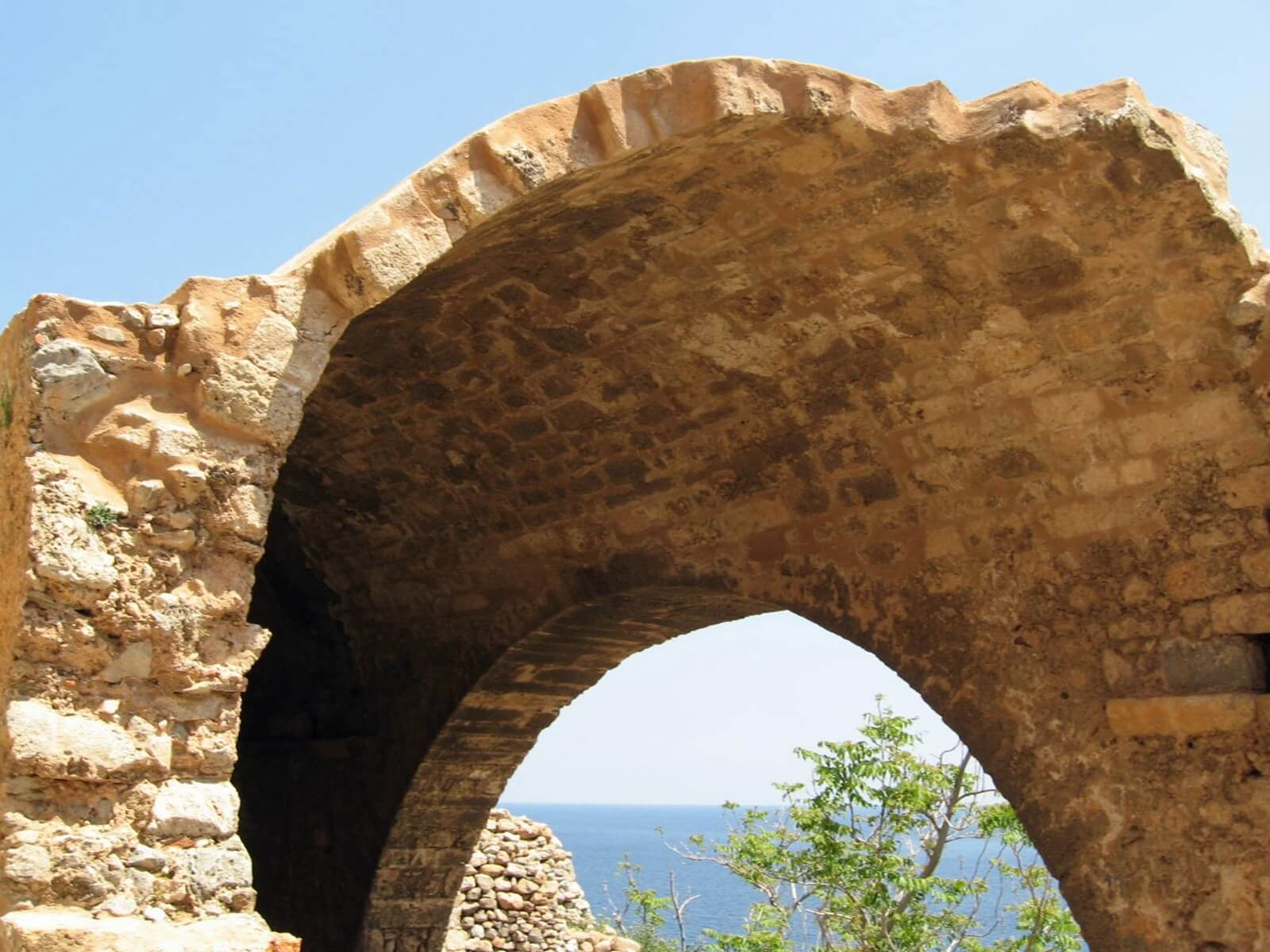 Monemvasia, Peloponnese by Kicking Back the Pebbles