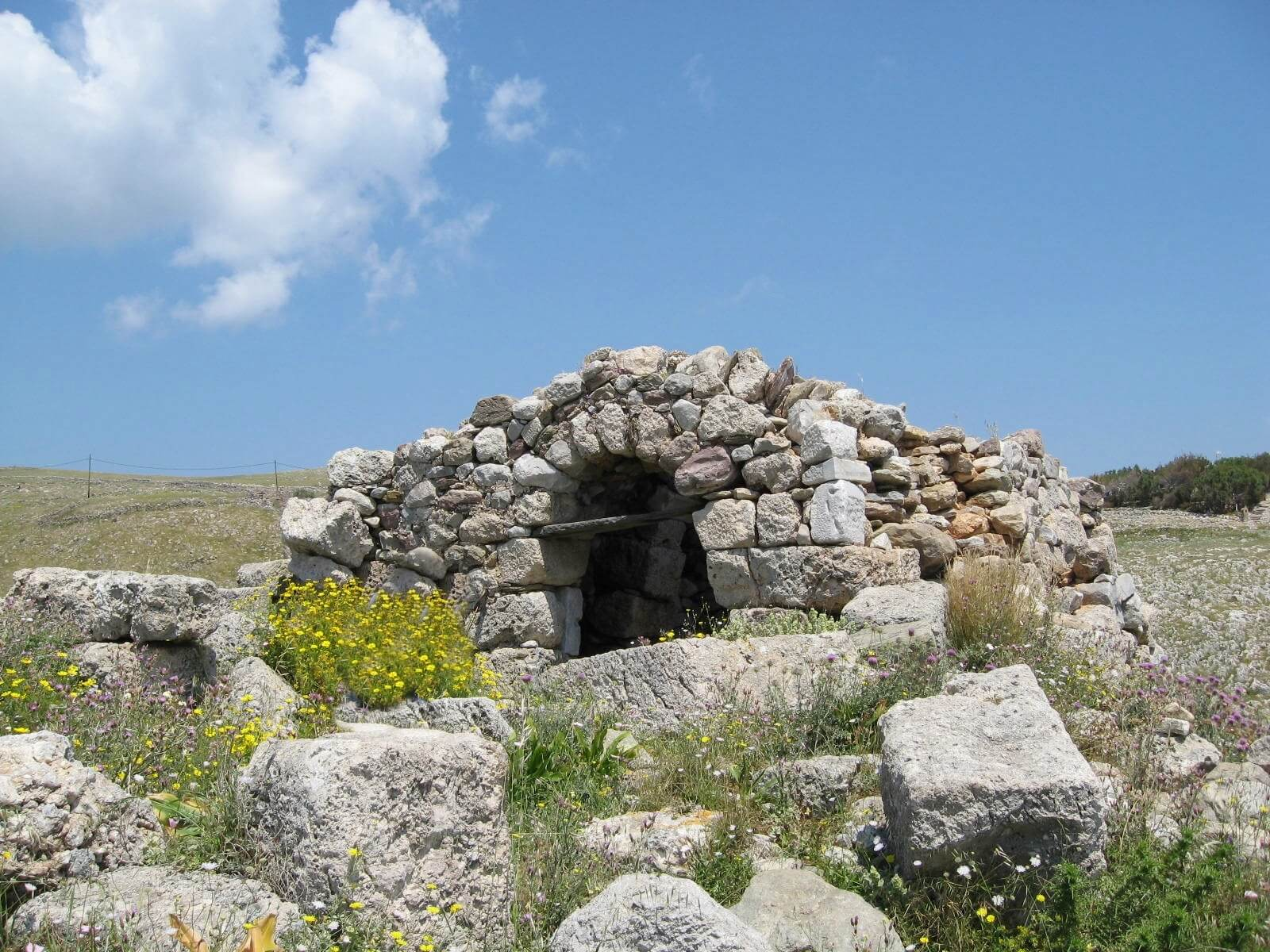Poseidon's Sanctuary and Death Oracle-Cape Taenaron-Mani-Laconia-Peloponnese