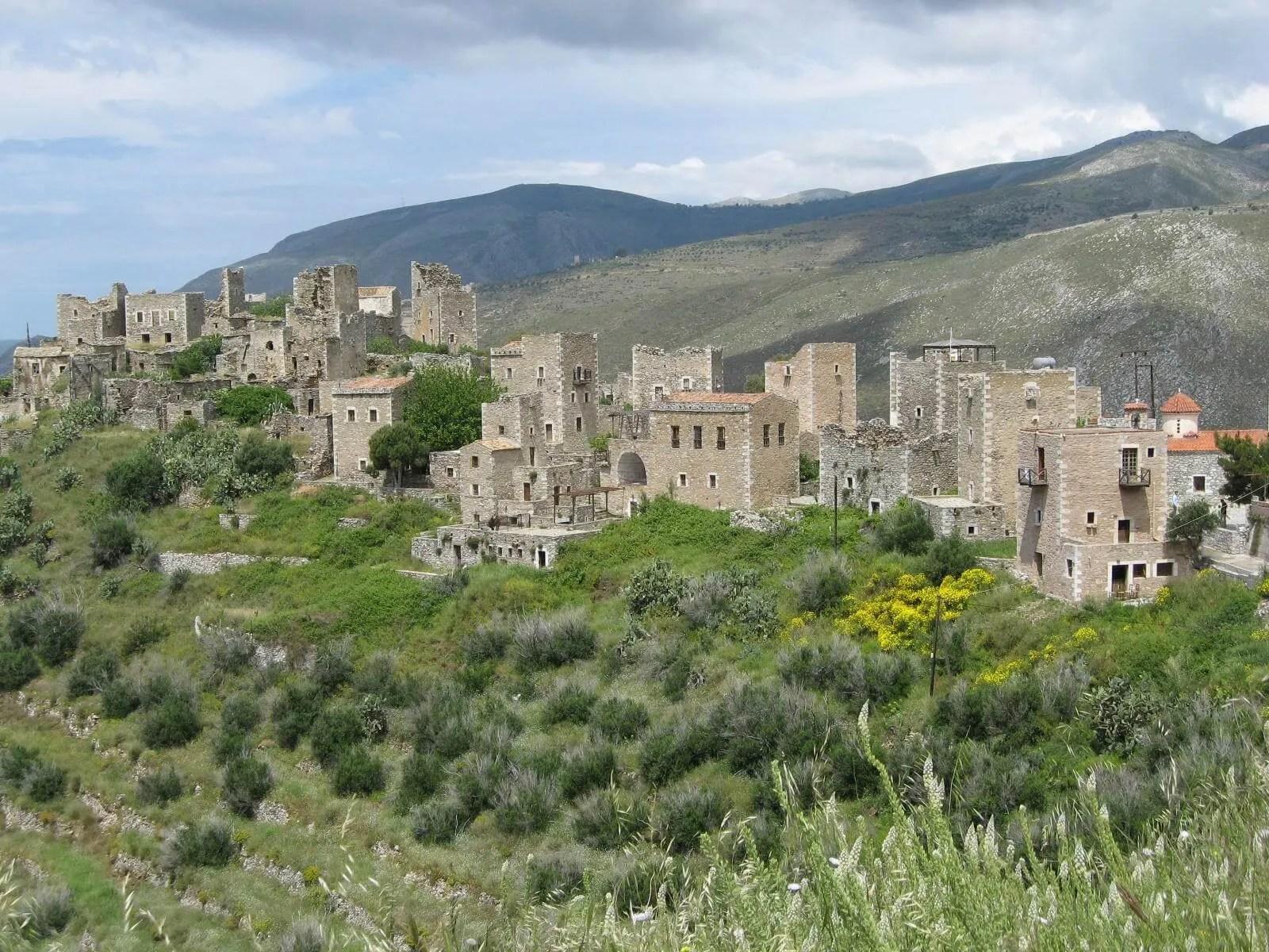 Vatheia-Oitylo-Mani-Laconia-Peloponnese