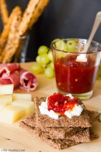 Sweet Chilly & Tomato Jam @The Healthy Cook