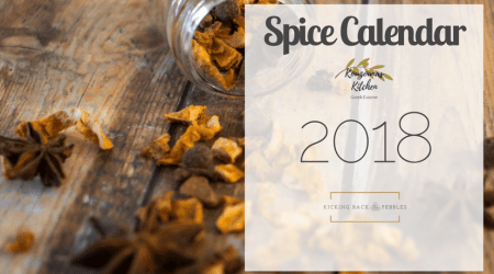 Inside our 2018 Spice Calendar & free spice-jar labels