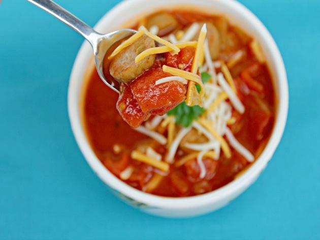 Spicy Chicken Sausage and Cabbage Stew Recipe