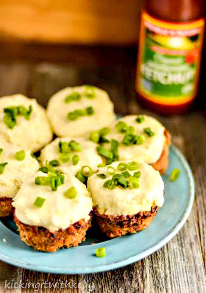Kid Friendly Skinny Meatloaf Muffins With Mashed Potatoes 1