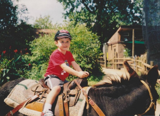 Henry and the horse